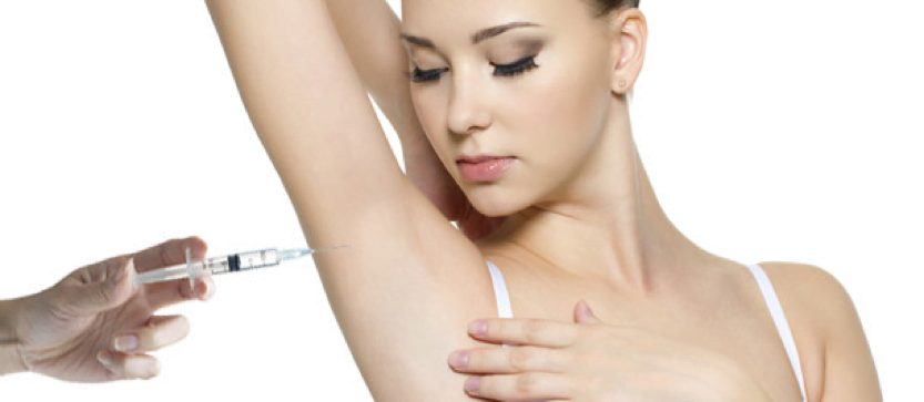 Excessive sweating or Hyperhidrosis – Use Botox!
