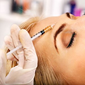 anti wrinkle injections reduce lines refresh face, areas brow, frown crows tram lines