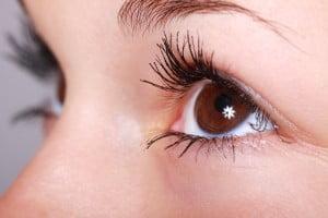 bumpy eye texture