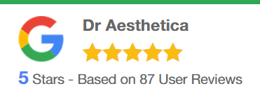 Google Reviews Dr Aesthetica 5 stars