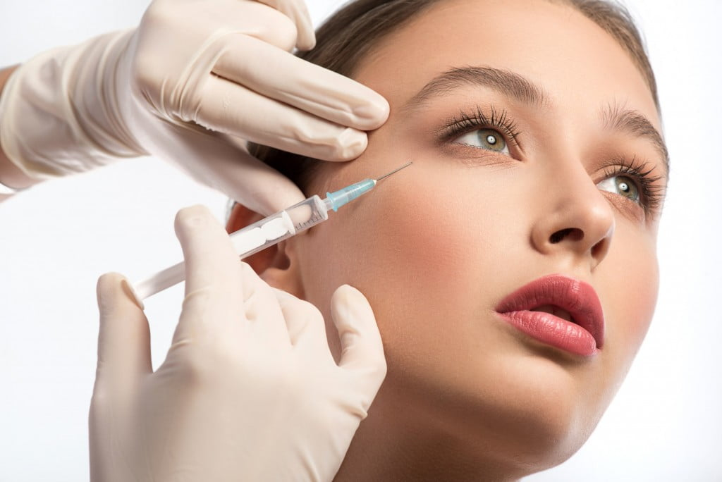 injection underneath eyes botox